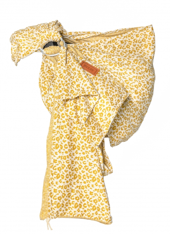 Ringsling Yellow Leopard zonder model